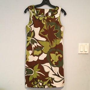Anni Kuan Shift Dress, Retro Fabric size 2